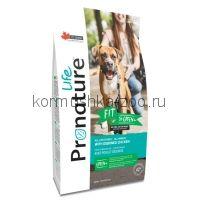 Pronature Life Fit сухой корм для собак с курицей