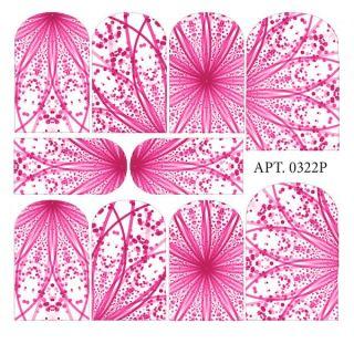 Слайдер-дизайн для ногтей № 0322