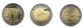 Фауна Набор монет Буркина-Фасо 2017 (3 монеты)