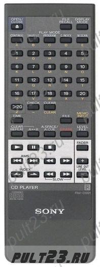 SONY RM-D991, CDP-333ESJ, CDP-915, CDP-915E, CDP-X333ES, CDP-X555ES
