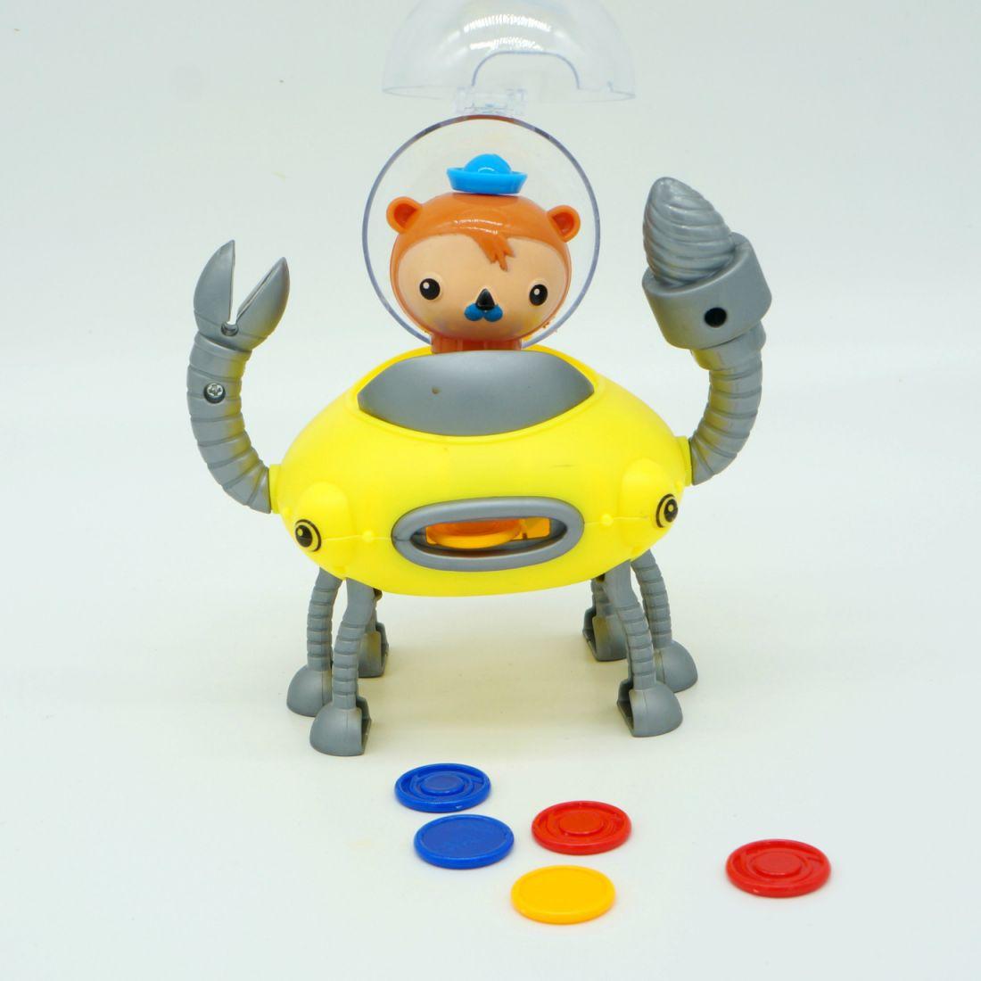 Игровой набор «Октонавты: Клешня и подводная лодка GUP-D
