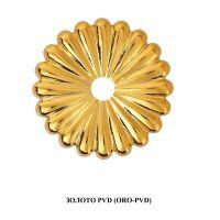 Ручка Enrico Cassina C51000 для раздвижных дверей золото PVD