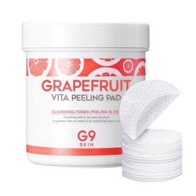 Ватные диски для пилинга BERRISOM G9SKIN Grapefruit Vita Peeling Pad 200g