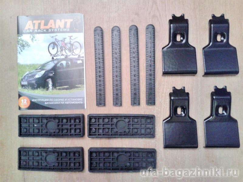 Адаптеры для багажника Volkswagen Polo sedan 2010-..., Атлант, артикул 8626