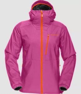 Norrona Lofoten Alpha Jacket W CRASH PINK