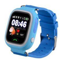 Умные детские часы с GPS Smart Baby Watch Q80, Синий