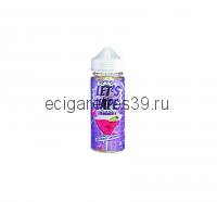 Жидкость Let's vape Raspberry Lemonade , 120 мл.