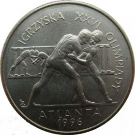 Игры XXVI Олимпиады. Атланта 1996. Вольная борьба 2 злотых 1995