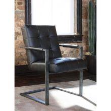 Кресло STARMORE H633-02A офисное экокожа серая