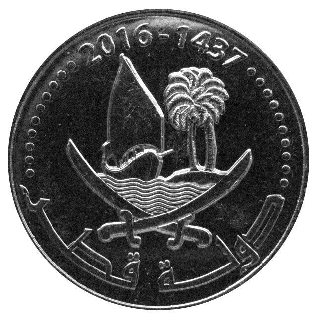 Катар 50 дирхам 2016 г.