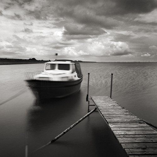 Boat And Pier