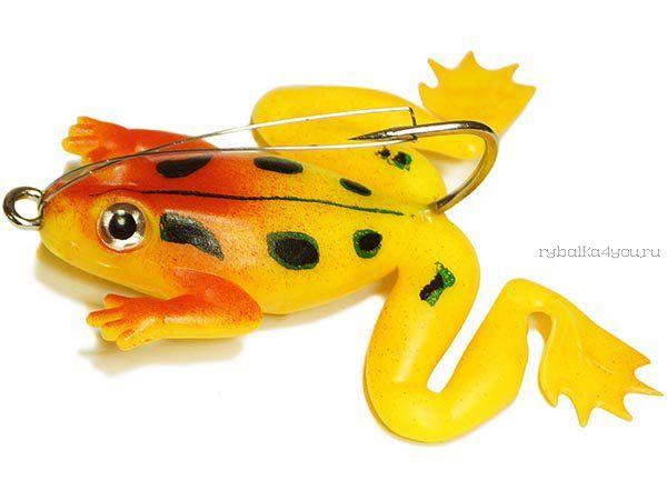 Купить Незацепляйка Kosadaka мягкая оснащ. тонущая Лягушка с лапами LF27 50мм/ 10гр / цвет: С73