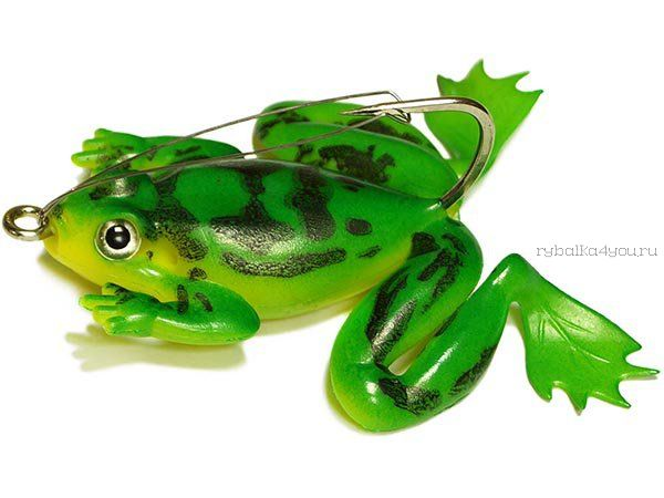 Купить Незацепляйка Kosadaka мягкая оснащ. тонущая Лягушка с лапами LF27 50мм/ 10гр / цвет: С74