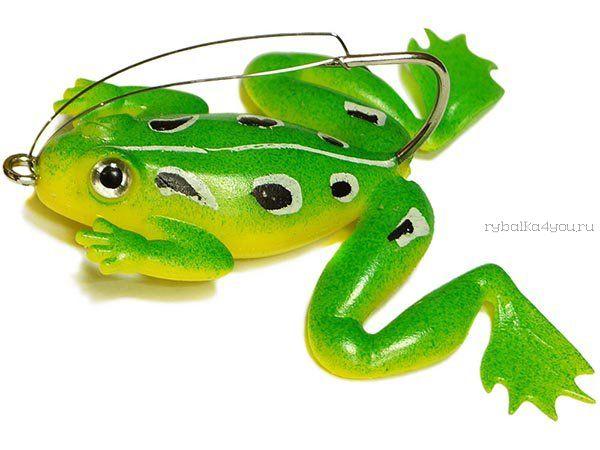 Купить Незацепляйка Kosadaka мягкая оснащ. тонущая Лягушка с лапами LF27 50мм/ 10гр / цвет: С76