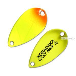 Блесна Kosadaka Trout Police Lucky Drop 2гр / 23мм / цвет: B51