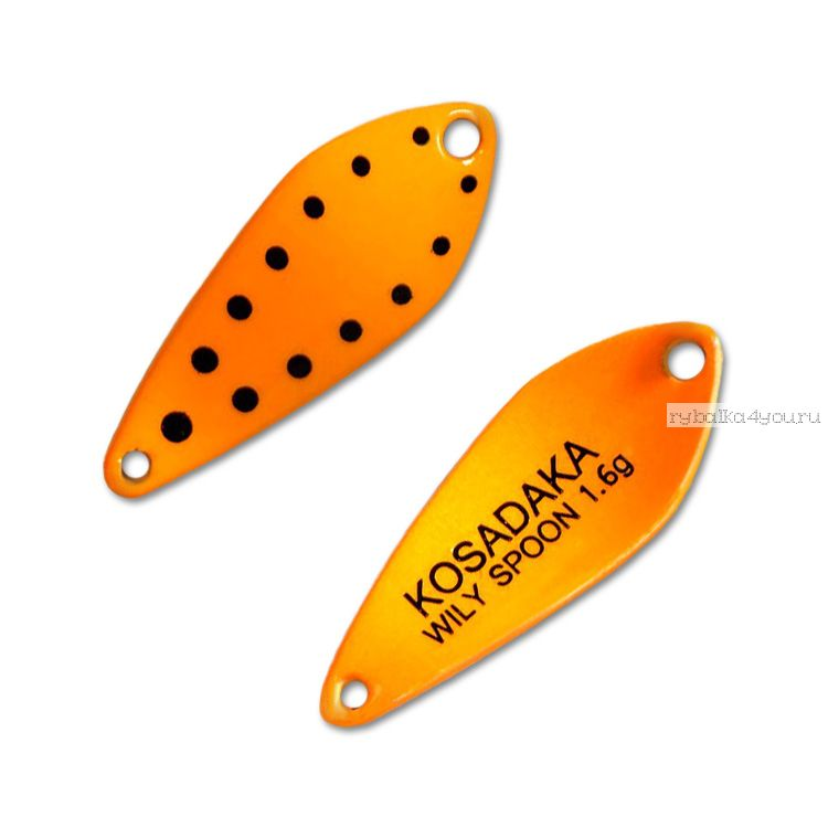 Блесна Kosadaka Trout Police Wily Spoon 1,6гр / 27мм /цвет: D77