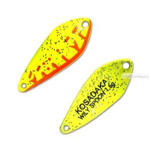 Блесна Kosadaka Trout Police Wily Spoon 1,6гр / 27мм /цвет: D92