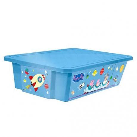 """Дет.ящик для хранения игрушек X-BOX """"Свинка Пеппа"""" 30л,"""