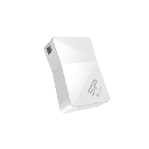 USB накопитель Silicon Power 16GB Touch T08 White
