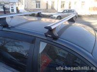 Багажник на крышу Volkswagen Polo 2002-2009, Атлант, крыловидные дуги