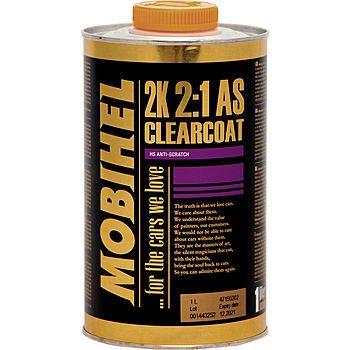 MOBIHEL 2К 2:1 бесцветный лак FG anti-scratch  + 2К отвердитель 8100, 1л. + 500мл.