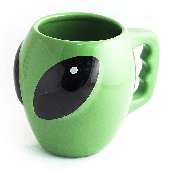 Кружка Инопланетянин Зеленый