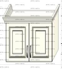 Антресоль 2-дверная навесная Ферсия, мод. 33 МДФ
