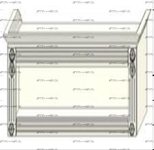 Антресоль с открытой нишей Ферсия, мод. 35 ЛДСП