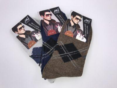 Мужские носки шерсть & ангора р-р 40-48