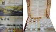 РАСПРОДАЖА!!! БОЛЬШОЙ Альбом под 28 монет 2012 год 200 лет БОРОДИНО Отечественная война 1812 год