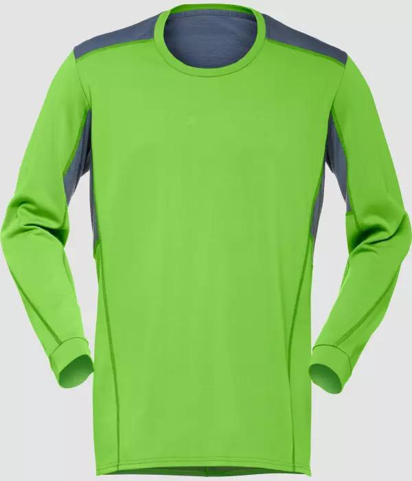 Norrøna falketind super wool Shirt M CLEAN GREEN