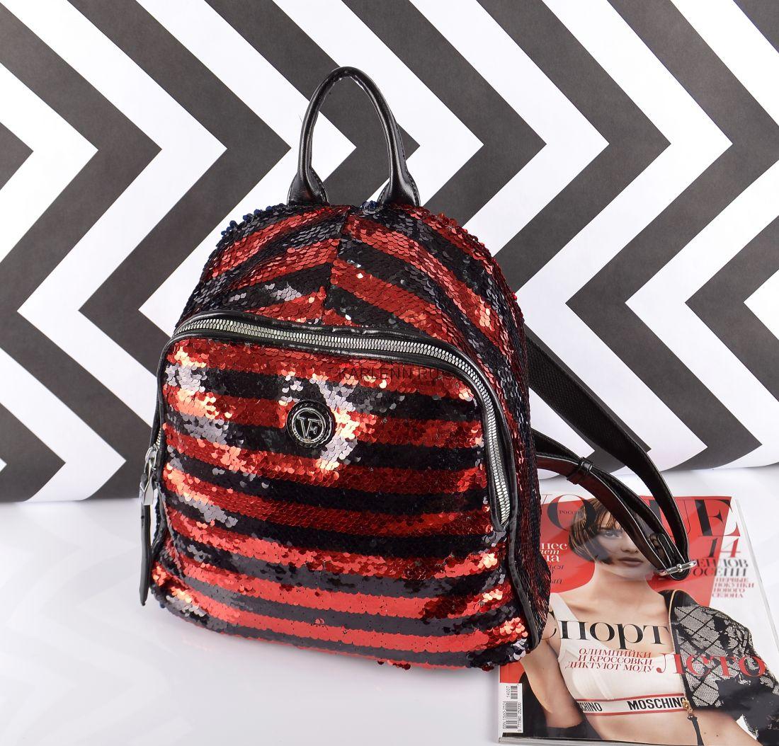 Рюкзак женский Velina Fabbiano (красный)