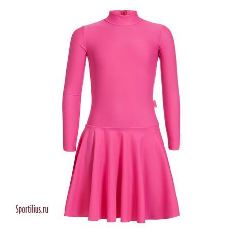 платья для спортивных бальных танцев детское