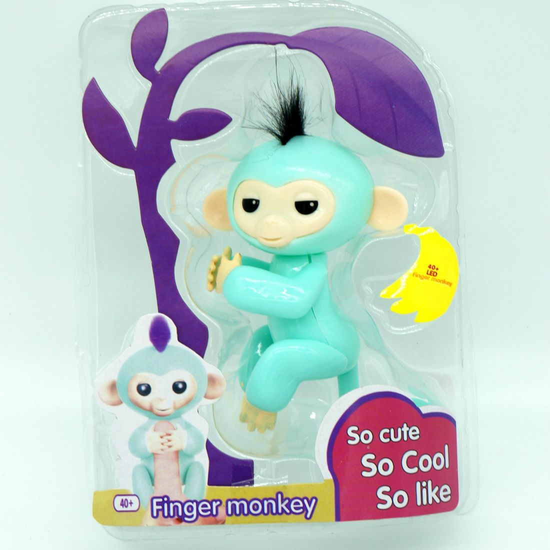 Светящаяся обезьянка Fingermonkey