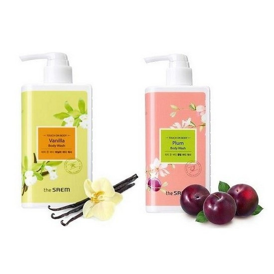 The SAEM Лосьон для тела TOUCH ON BODY Body Lotion 300мл