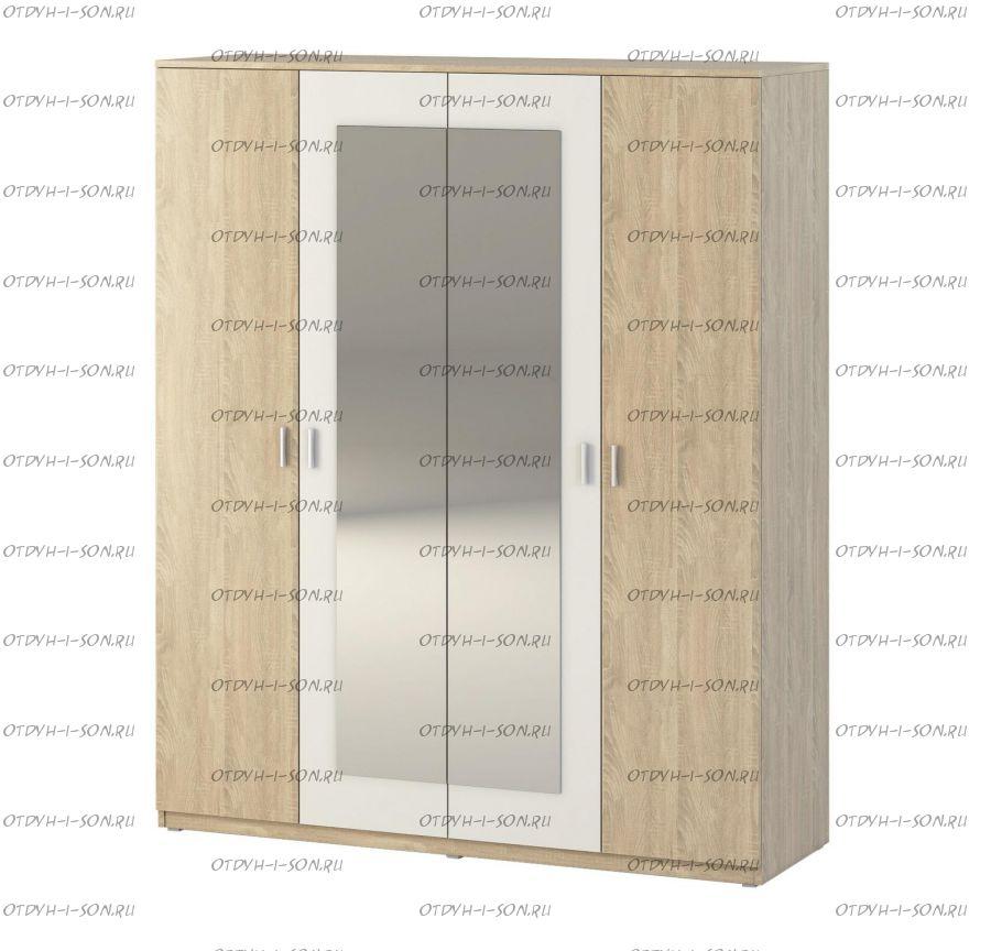 Шкаф 4-дверный Монморанси мод.1402.М2 (180х60х217)