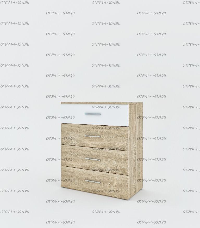 Комод 4 ящика Монморанси мод.1410.М2 (80х42х95)