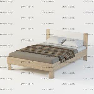 Кровать б/о Монморанси мод.1404.М2 или мод.1409.М2