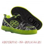 Роликовые кроссовки Heelys Lighted Boom X2 HE100152