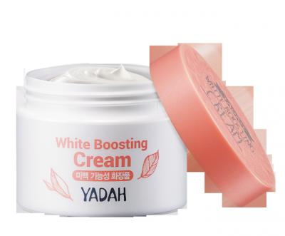 Крем для лица осветляющий YADAH WHITE BOOSTING CREAM 50мл