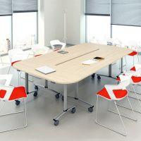 Столы для переговоров складные