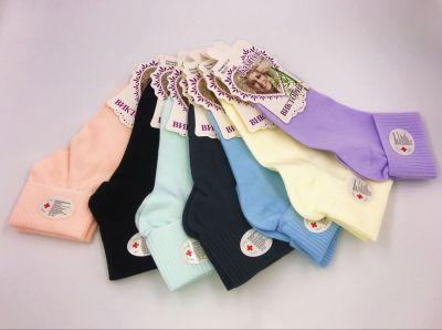 Легкие медицинские женские носки с бамбуком и ослабленной резинкой р-р 37-41