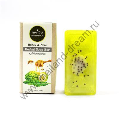 Органическое мыло Нони и Мёд Phutawan