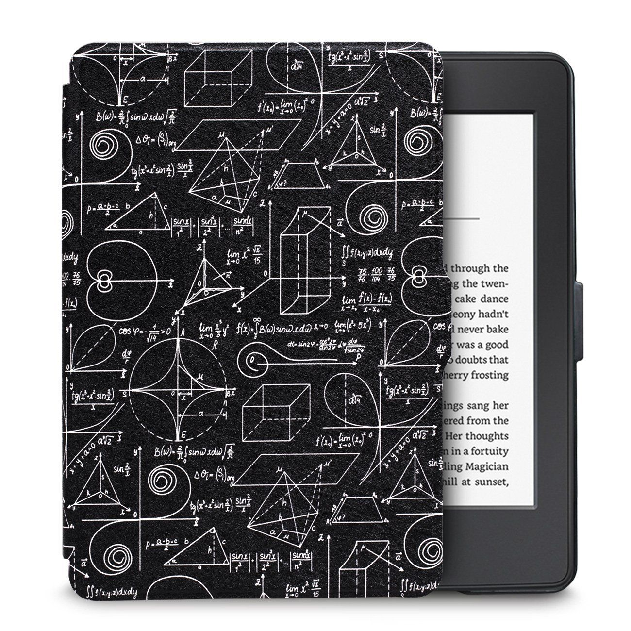 Чехол-обложка  для Amazon Kindle Paperwhite (Формулы)