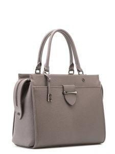 Серая деловая сумка Eleganzza