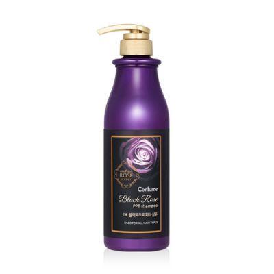 Шампунь для волос с экстрактом дамасской розы Welcos Confume Black Rose PPT Shampoo 750гр