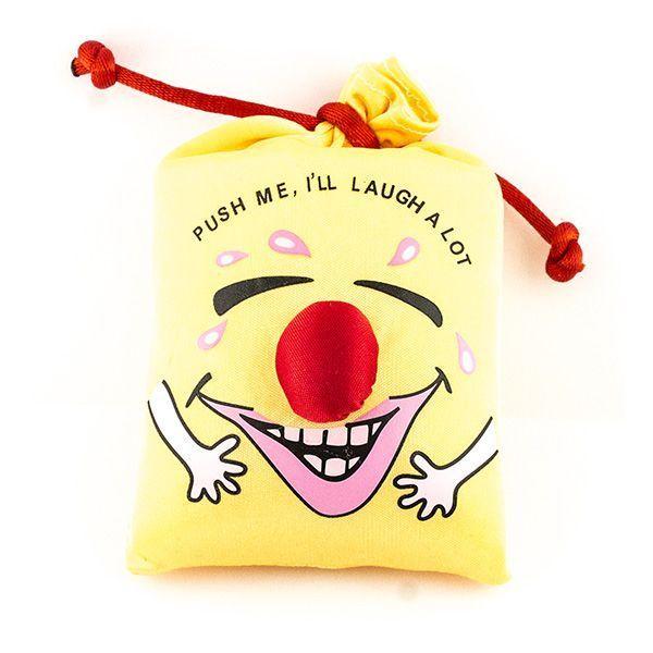 Мешок со смехом желтый