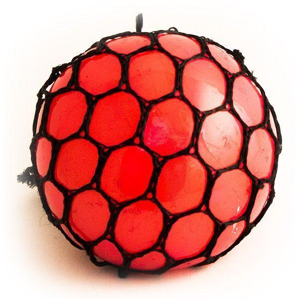 Игрушка-мялка Шарик красный