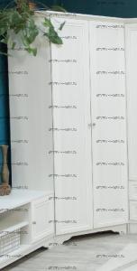 Шкаф 2-дверный угловой Классика (94х94х206)