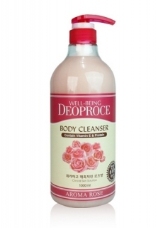 Гель для душа WELL-BEING DEOPROCE AROMA BODY CLEANSER 1000ml
